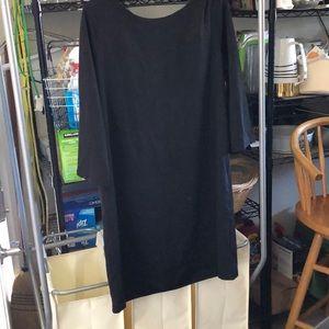 H&M Size 14 Black 3/4 Sleeve Dress